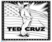 Print ted cruz coloring pages