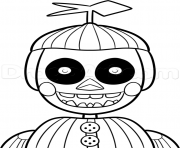 Printable phantom balloon boy phantom five nights at freddys fnaf coloring pages