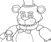 Printable five nights at freddys fnaf coloring pages