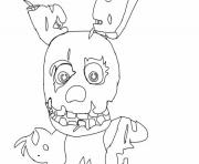 Five Nights At Freddys Fnaf 1 Coloring Pages
