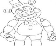 Printable five nights at freddys fnaf 2 coloring pages