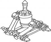 Printable air defense clash of clans coloring pages