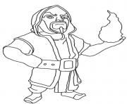 CLASH OF CLANS Coloring Pages -  6.2KB