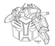Print transformers 37  coloring pages