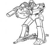 transformers megatron  coloring pages