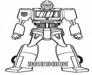 Printable transformers ironhide  coloring pages