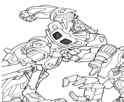 transformers 22  coloring pages