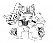 printable transformers 74 coloring pages - Optimus Prime Truck Coloring Page