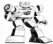Printable transformers bumblebee 3  coloring pages