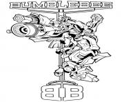 Print transformers bumblebee 5  coloring pages