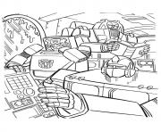 transformers Reading a4 coloring pages