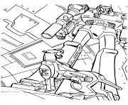 Print transformers and His Pet a4 coloring pages