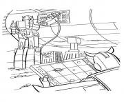 Print transformers hi tech operations a4 coloring pages