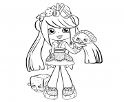 Printable Shopkins Shoppies coloring pages