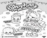 Printable shopkins season 6 Chef Club coloring pages