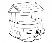 wishing well shopkins season 5 coloring pages - Free Color Pages