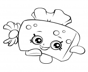 shopkins strawberry kiss coloring pages