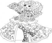 Ever After High 3 coloring pages