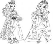 Ever After High 4 coloring pages
