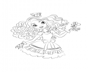 Print Ever After High 5 coloring pages