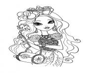 Printable Ever After High dolls 7 coloring pages