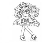 Print Ever After High dolls 8 coloring pages