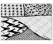 Printable adult zentangle by cathym 26 coloring pages