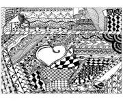 Printable adult zentangle by cathym 13 coloring pages