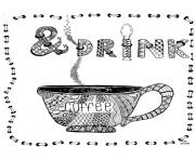 Printable drink by cathym12  coloring pages