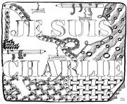 Printable je suis charlie cathym17  coloring pages