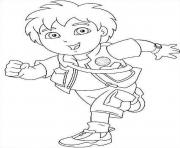 cartoon diego s for kids 080f coloring pages