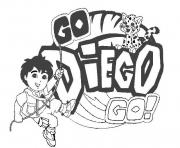go diego s to print3aa0 coloring pages