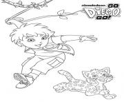 diego animal s7174 coloring pages