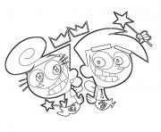 Printable fairy odd parents cartoon s cartoon0bc9 coloring pages