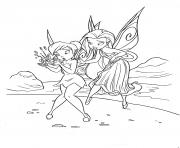 Printable fairy cartoon tinkerbell sb237 coloring pages