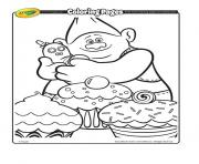 Printable biggie And Mr Dinkles 2 trolls coloring pages