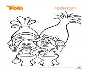 Printable dj suki poppy trolls coloring pages