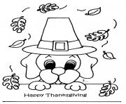 Printable November Thanksgiving coloring pages