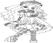 Spring Unsprung cedar wood ever after high coloring pages