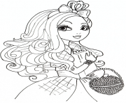 Print apple white 2 from ever after high coloring pages