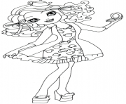 Printable madeline hatter getting fairest coloring pages