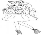 Printable ashlynn ella mirror beach ever after high coloring pages