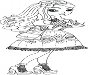 Printable ever after high hat tastic apple white coloring pages