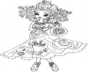 EVER AFTER HIGH Coloring Pages Color Online Free Printable