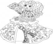 EVER AFTER HIGH Coloring Pages Free Printable