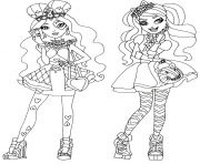 Spring Unsprung Lizzie Hearts Ever After High Coloring Pages Printable