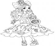 Print Apple White Way Too Wonderland Ever After High coloring pages