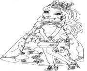 Printable Ashlynn Ella Legacy Day Ever After High coloring pages