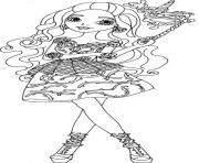 Printable Briar Beauty Thronecoming Ever After High coloring pages