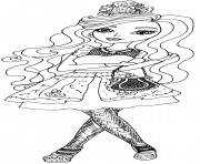 Print ever after high hat tastic briar beauty coloring pages